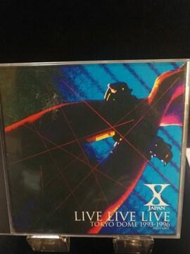 X JAPAN  LIVE LIVE LIVE 東京ドーム2CD 曲目画像掲載 送料無料