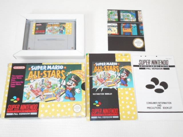 SFC★SUPER MARIO ALL STARS SNES 海外版 < ゲーム本体/ソフト