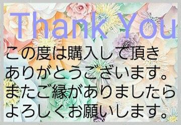 送料込み価格 Thank Youシール B-10 5シート