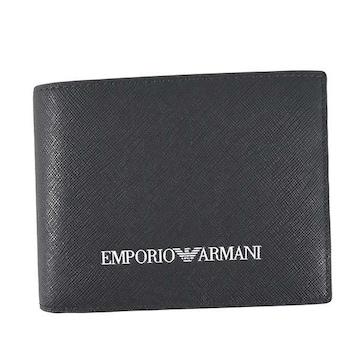 ◆新品本物◆エンポリオアルマーニ 2つ折財布(NV)『Y4R165 Y020V』◆