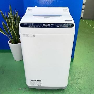 ◆SHARP◆全自動洗濯機 2018年 5.5kg 美品 大阪市近郊配送無料