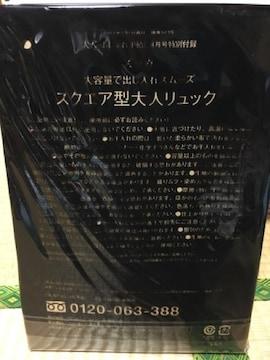 ☆非売品☆ズッカ☆大容量☆スクエア型大人リュック☆