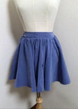 ☆RETRO GIRL☆水色系☆フレア☆ミニスカート☆M☆