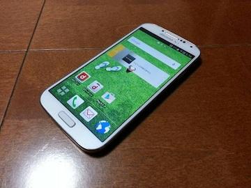 即落/即発!!超美品 SC-04E Galaxy S4 ホワイト 専用ケース付き