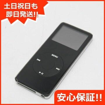 ●安心保証●良品中古●iPOD nano 第1世代 1GB ブラック●