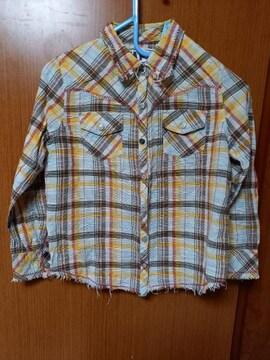 ∞ 格子のシャツ