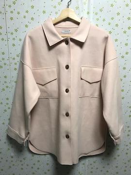 Lサイズ ジャケット ローズピンク