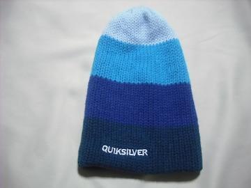 mb658 男 QUIKSILVER クイックシルバー ニット帽 ボーダー