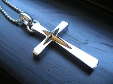 仁尾彫金『十字星クロスコンビ』ハンドメイド