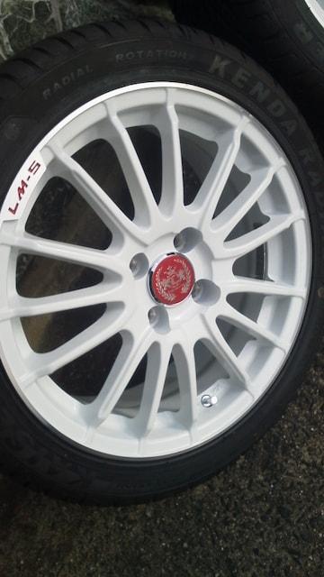 コンパクトcarに美品レアマイスターLM-S未使用タイヤ 195/45R16 < 自動車/バイク