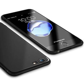 人気 iPhone6s 6 ケース ストラップホール付 指紋防止 ブラック