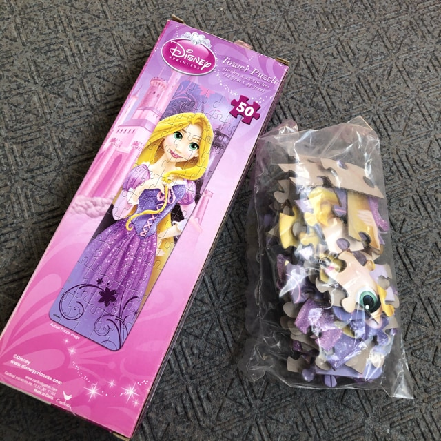 新品 日本未発売 ディズニー ラプンツェル パズル < おもちゃの