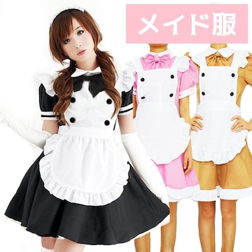 コスプレ メイド服Aミニワンピース3602-3636