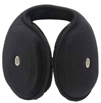 色ブラック サイズフリーサイズ TERRACE[テラス]耳当て コンパ