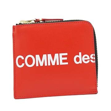 ◆新品本物◆コムデギャルソン HUGE LOGO 小銭入れ(RED)『SA3100HL』