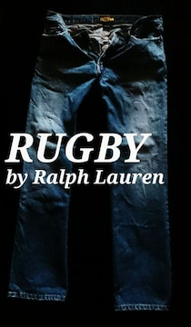 【RUGBY】ラルフローレン Vintage Washed ストレートジーンズ 32/M.Wash