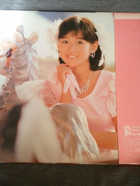 【中古】シンデレラ★岡田有希子★LPレコード★美品です < タレントグッズの