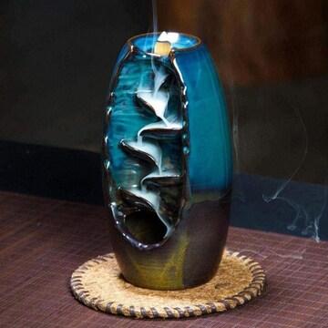 滝 お香立て 陶器
