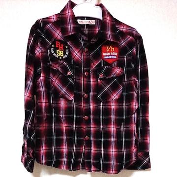 RUSH HOUR r/h120 アメカジ チェックシャツ