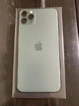 iPhone11ProMax 512GB ミッドナイトグリーン SIMフリー