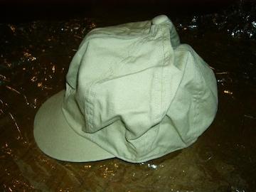 新品SILASサイラスコットンキャップ帽子キャスケット