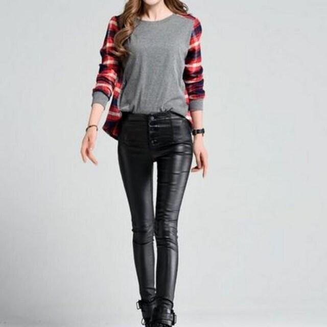 劇的伸縮性★スーパーストレッチパンツ(Lサイズ) < 女性ファッションの