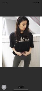 GYDAトップス BOLSTER BIG Tシャツ美品定価4389円黒ジェイダ