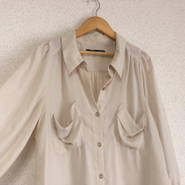 ヘザー 九分袖ゆったりシャツ Heather★ < 女性ファッションの