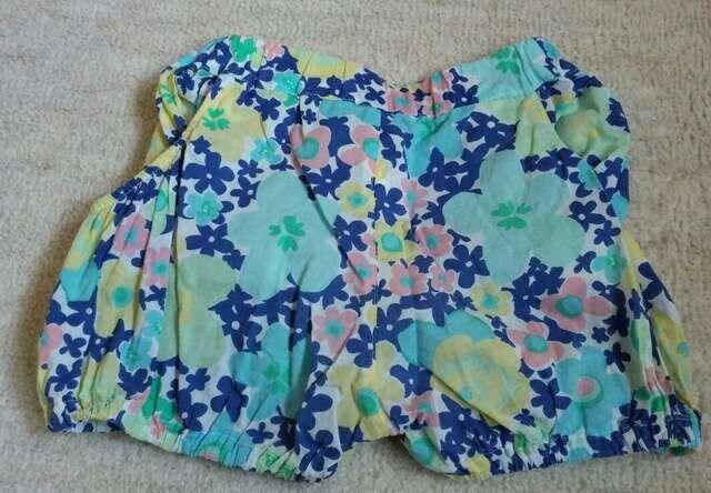 ムージョン購入☆miamailの花柄ショートパンツ☆size95 < ブランドの