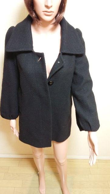☆JOIAS☆2wayのウールコートA12☆3点で即落 < 女性ファッションの