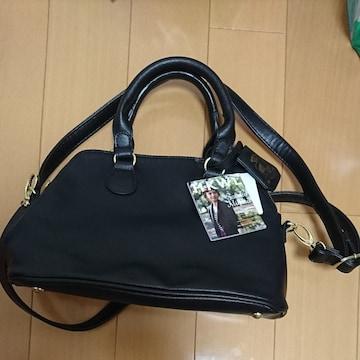 しまむら.黒色.斜め掛けバッグ.新品タグ付きです。
