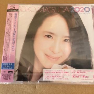 即決 松田聖子 SEIKO MATSUDA 2020 初回限定盤 新品