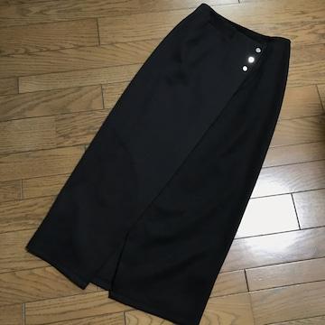新品ユナイテッド トウキョウ 黒ハイウエストタイトスカート