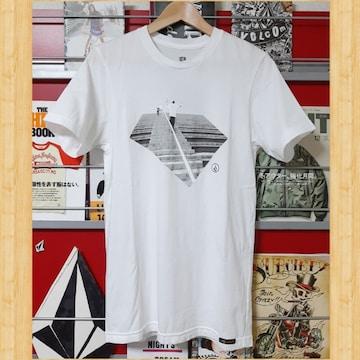 VOLCOM ボルコム Tシャツ Kj S レア オーストラリア 07SS ホワイト
