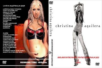 ≪送料無料≫CHRISTINA AGUILERA LIVE 2007 & プロモ アギレラ