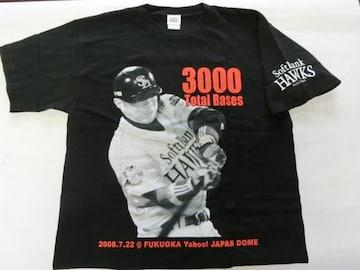 2008年 小久保裕紀3000塁打達成記念Tシャツ 非売品 新品