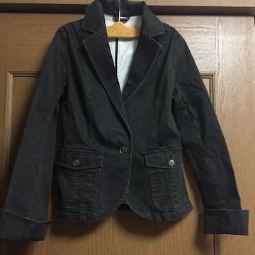 新品☆9号サイズMぐらい☆着やすい黒ミリタリージャケット