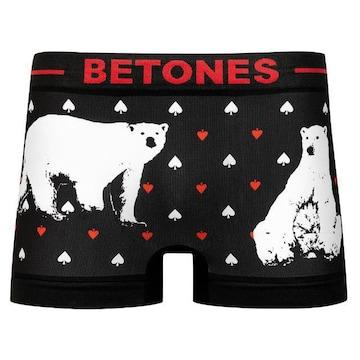 BETONES/メンズ/シロクマ/シームレス/ボクサーパンツ/F
