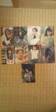 Girls! 非売品 9枚カードセット