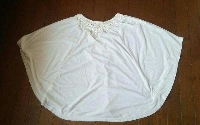 キナリポンチョ 3L < 女性ファッションの