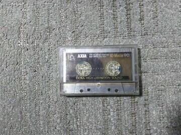 録音使用済カセットテープ AXIA アクシア XD-Master90 メタルポジション