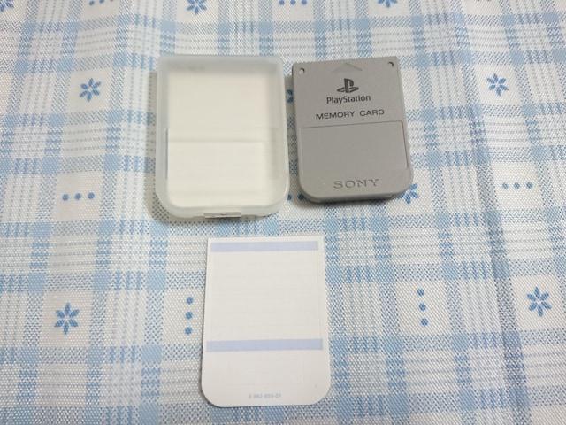 PS用 メモリーカード�A  < ゲーム本体/ソフトの