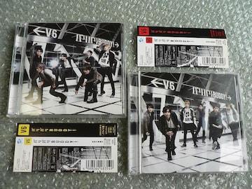 V6/バリバリBUDDY!【バリバリ盤+ブリアナ盤】初回CD+DVD/2枚set