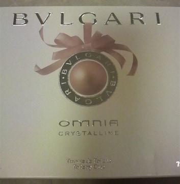 ブルガリ(BVLGARI)★オムニア クリスタン コフレ★ポーチセット