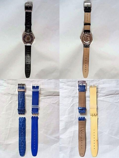 スウォッチSWATCHトレゾールマジック腕時計pt950自動巻き < ブランドの