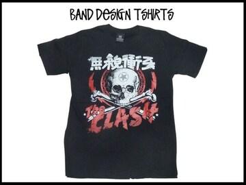 新品 The Clash ザークラッシュ バンド T 【L】 68-44