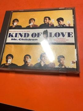 Mr.Children CD KIND OF LOVE