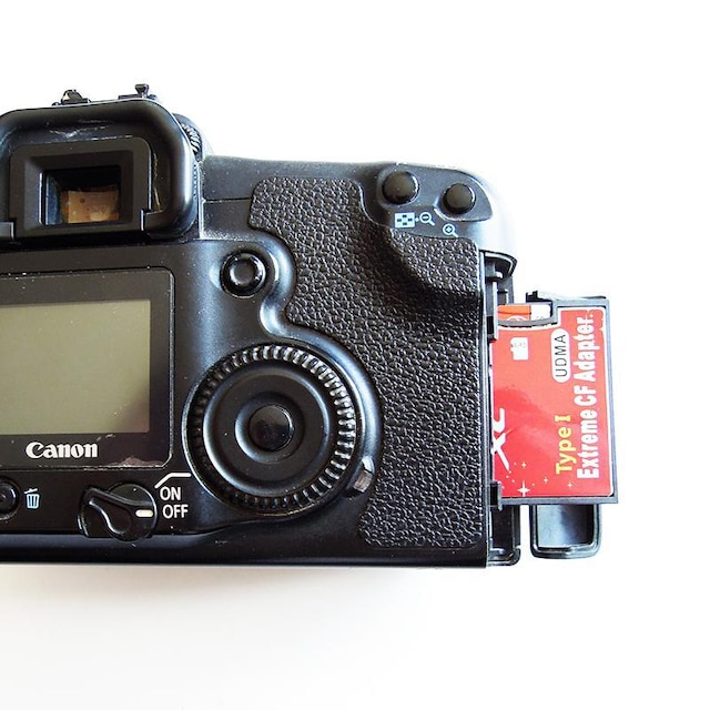 C003 MicroSD to CF アダプター TF対応 < 家電/AVの