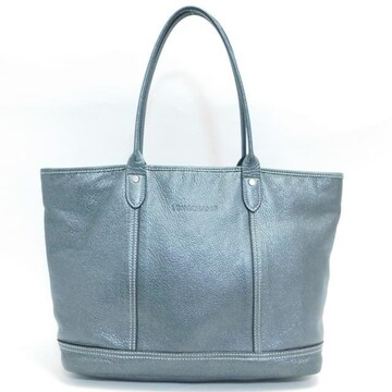 Longchampロンシャン トートバッグ 濃グレー系 良品 正規品