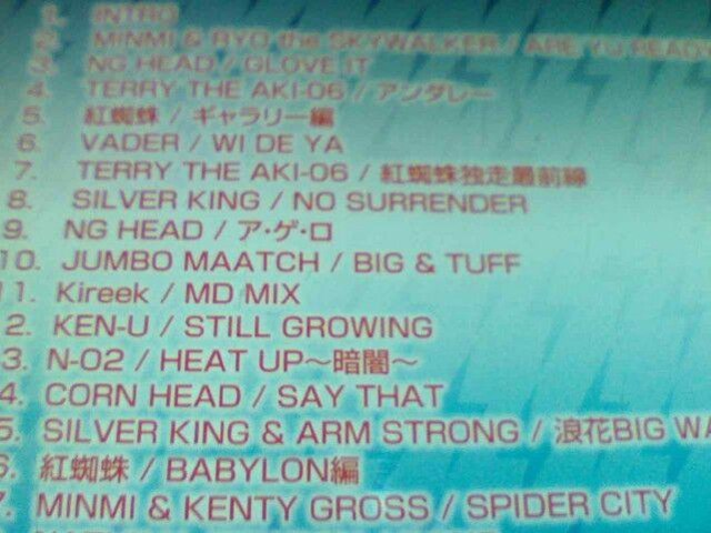 《RED SPIDER》KENTY GROSS TERRY THE AKI-06湘南乃風 HAN-KUN < タレントグッズの